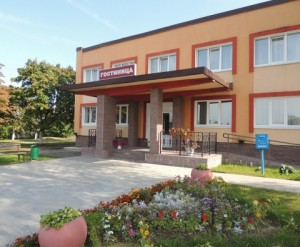Hotel in the town of Uzda